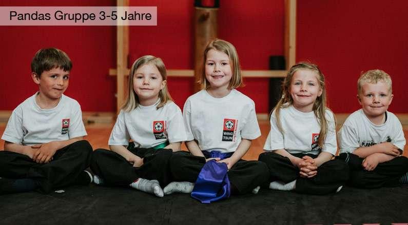Kinder Kampfsport Selbstverteidigung